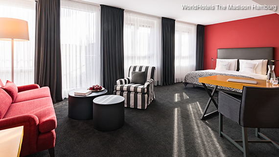 WorldHotels - Madison Hotel Hamburg